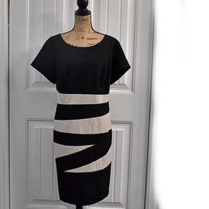 Alyx Black White Dress Size 18W